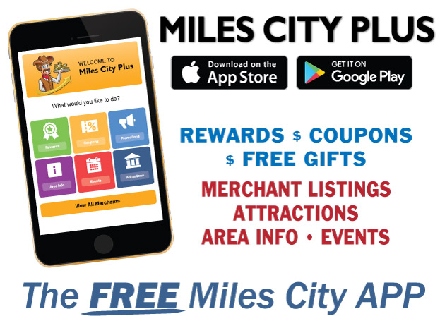 Download the Miles City PLUS app