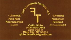 Gibbs Livestock Services, Inc  » Miles City Area Chamber of Commerce