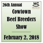 2018 Cowtown Beef Breeders Show