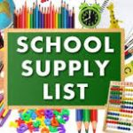 2018 School Supply Lists