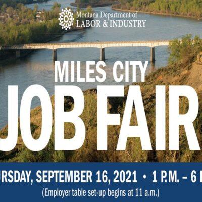 Miles City Job Fair